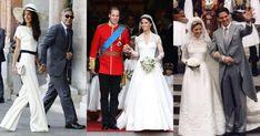 Od królewskiej sukni Grace Kelly projektu Helen Rose po inspirującą kreację Kate Middleton od Sary Burton, dyrektor kreatywnej domu mody Alexander McQueen – wybraliśmy szyte na miarę kreacje za setki tysięcy złotych. Royal Wedding Venue, Royal Wedding Prince Harry, Royal Weddings, Wedding Gowns, Wedding Venues, Wedding Photos, Wedding Cake Maker, Prince Charles And Camilla, Princess Beatrice