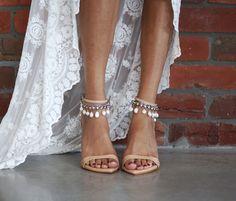 Shoes #graceloveslace Grace Loves Lace, Boho Wedding Shoes, Wedding Heels, Lace Wedding, Dress Wedding, Bridal Heels, Bridal Dresses, Rustic Wedding, Wedding Ceremony