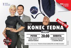 Vsako konec tedna na glavo! :: Prvi interaktivni multimedijski portal, MMC RTV Slovenija