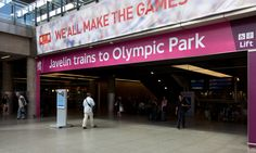 Design Consultancy Network Rail Olympic wayfinding