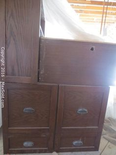Filing Cabinet, Armoire, Auction, The Unit, Storage, Furniture, Home Decor, Clothes Stand, Homemade Home Decor