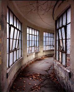 Ellis Island, Abandoned hallway