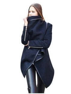 i just came across this website called Jollychic.com. have you heard of it? it's new to me! They have some really interested pieces on there, like this asymmetric coat. loving this coat, wonder what the quality is like?