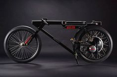 Garagem Cafe Racer : Sexta Insana: 66 Little Honda P25 by Chicara Nagata
