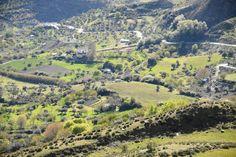 Valle del río Dílar en Granada.