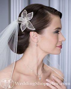 Bel Aire Bridal Headpiece 6066