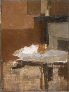Study for 'The Brown Teapot', Gwen John oil on canvas, National Museum Wales, National Museum Cardiff Gwen John, Painting Still Life, Art Uk, Your Paintings, Painting Portraits, Figure Painting, Art And Architecture, Les Oeuvres, Oil On Canvas