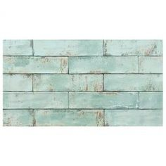 Grunge Aqua 7 5x30 Mt In 2019 Ceramic Tile Backsplash