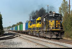 ARR 3001 Alaska Railroad EMD GP40-2 at Anchorage, Alaska by Michael William Sullivan