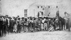 "Chiricahua apaches who were taken to Carlisle, a boarding school that imprisoned,indoctrinated, and abused native children. The motto was "" kill the indian, save the man""."
