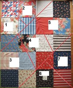 Moda Bake Shop: Cuttin' Corners Quilt...I could use the other autism layer cake set for this quilt!