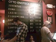 Flap Display Board by Solari di Udine spa  @OttoPizzeria @NewYork #design #madeinItaly