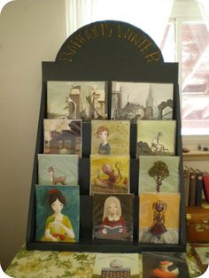 How to make this Art Print Display Rack for Arts and Crafts show by Barnum's Winter.