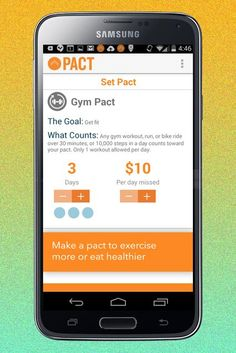 Pact lets you make a weekly commitment — a bet, really — that you'll be able to complete your workout. Otherwise, you pay up, and other Pact members reap the reward.Here's how it works. You make an in-app commitment to work out more. Log your workouts, and your commitment money remains yours. If you use the app diligently (and don't skip cardio classes), you can slowly earn some dough from others who've fallen off the path. One app reviewer earned $60 over roughly eight months — it's not a…