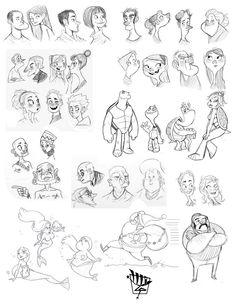 Luigi Lucarelli: Character Designer | Sketches