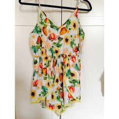 tribal romper not lf but same brand they sell! Australian size 12 but fits like a small. never worn LF Dresses