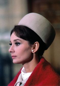 Audrey Hepburn on set ofCharade, 1963. Photographs by Hamilton Millard
