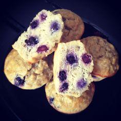 Dairy free, gluten free, FODMAPS, paleo, low carb, sugar free muffins