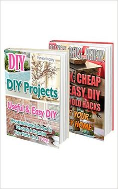 Amazon.com: DIY Projects BOX SET 2 IN 1: 45 Cheap & Easy DIY Household Hacks And Upcycling Ideas For Your Cozy Home: (DIY projects, DIY household hacks, DIY projects ... ideas for home, DIY decoration ideas) eBook: Pamela Kingsley, Pamela Ianson: Kindle Store Reuse, Upcycle, Upcycling Ideas, Free Kindle Books, Hacks Diy, Cozy House, Diy Decoration, Easy Diy, Household