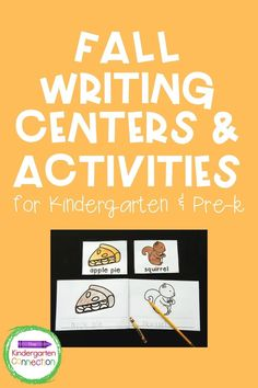 Fall is in the air! We love changing out our writing centers to reflect holidays and seasons. It keeps writing fresh and exciting for the students, which keeps them engaged in their lessons and learning activities. These fall writing centers are perfect for early writers to practice labeling, building vocabulary, sentence writing, and more! Grab them in our Teachers Pay Teachers store #learningactivities #prek #preschool #kindergarten # #fallkindergartenactivities