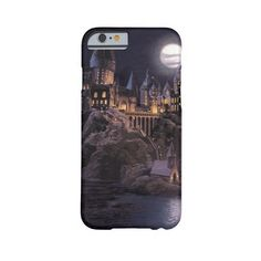 Hogwarts Boats To Castle Barely There Iphone 6 Case ($43) ❤ liked on Polyvore featuring accessories, tech accessories, phone cases, harry potter, phone and iphone