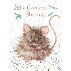Not a Creature Was Stirring | Wrendale Designs