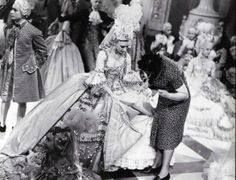 """Costumes from the Movie """"Marie-Antoinette"""" directed by W.S. Van Dyke (1938)"""