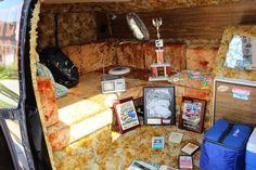 "1975 Dodge ""Shaggin' Wagon"" van belongs to Randy Smith"