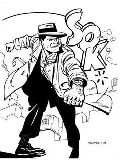 Comics Illustrator of the Week :: Chris Samnee « Illustration Friday