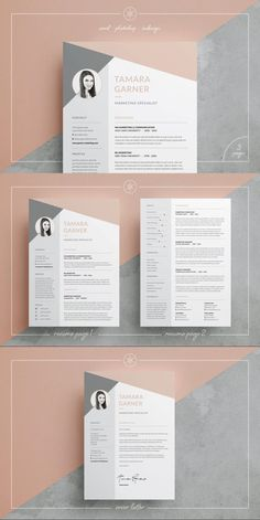 Resume / CV | Tamara #resumedocx #teacherresume #resumetutorial #pat #a4resume #BestResumeFormat #femininetemplate #ladyresume #ResumeHelp #simplecv #coverlettertemplate #branding #hipsterresume #wordtemplate #twopagecv #elegant #personalbranding #5pageresume #modern One Page Resume Template, Resume Design Template, Cv Template, Resume Templates, Design Resume, Resume Tips, Resume Cv, Resume Layout, Free Resume
