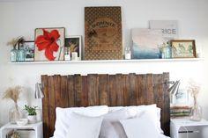 Ideas para decorar tu hogar en Habitissimo- Cabecero palets - DIY