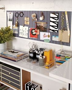 office organization, desk space, weight loss, pin boards, tray, organized office, bulletin boards, desk organization, craft rooms