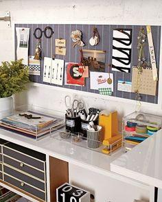 Simply Organized Creative Space