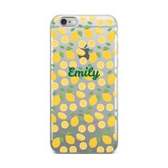 Lemon Slices iPhone Case