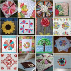 Dresden plate mini quilts compiled by Whip Up (with links)