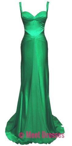 Hunter Green Prom Dresses,Sexy Formal Dresses,Open Back Prom Dresses,New Fashion Evening Gown,Evening Dress,Modest Formal Dress PD20187493