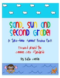 $5 This Second Grade Common Core Summer Review is designed for second grade students heading up to third grade.  It includes one activity for students...