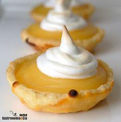 Receta de Tartaletas de lemon curd y merengue