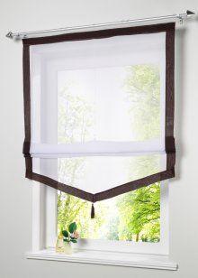 Римская штора «Зюльт», bpc living, коричневый