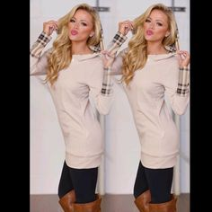 ❤️COMING SOON❤Cozy Chic Beige Plaid Hooded Tunic ❤️COMING SOON❤Cozy Chic Beige  ️Plaid Hooded Tunic❤️PLEASE COMMENT BELOW AND I'LL TAG YOU WHEN THEY ARRIVE! Sweaters Crew & Scoop Necks