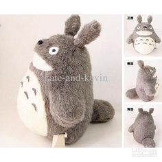 Wholesale Plush Toy - Buy Cute Totoro Plush Toy MY NEIGHBOR TOTORO STUDIO GHIBLI Plush Doll Gifts 11 28CM, $19.22   DHgate
