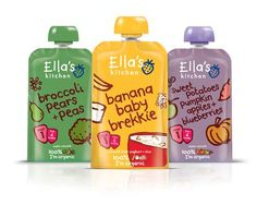 Direct to Mouth Pouch Packaging -  Ella's Kitchen