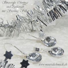 Swarovski Ohrringe mit 925 Sterling Silber Schmuck Online Shop, Amethyst, Jewels, Ornaments, Sterling Silver Jewelry, Rhinestones, Bijoux, Gemstones, Jewerly