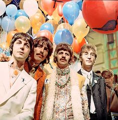 The Beatles go psychedelic!