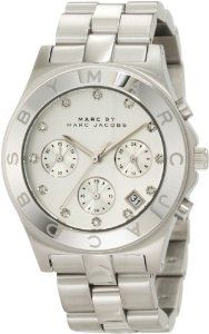 Newest accessories crush: Marc Jacobs Blade Watch in Silver