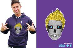 Skull :: www. Skull, Hoodies, Purple, Sweaters, Fashion, Moda, Parka, Sweater, Pullover