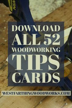 This is a collection of 52 guitar making tips cards, and they are a great resource for any beginning woodworker that is looking for a fun way to learn about the craft. Feel free to print these out and enjoy them. Happy building.