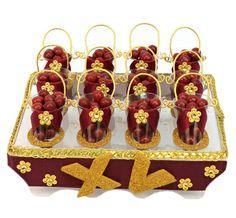 Despachador de botanas para fiestas de XV años. Manualidades originales