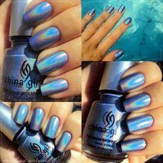 Matallic nails