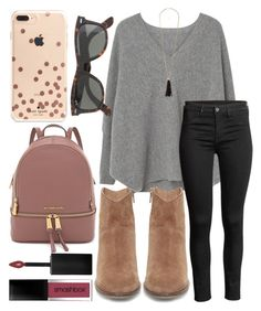 """""""Shopping today!"""" by jadenriley21 on Polyvore featuring Steve Madden, MANGO, Charlotte Russe, Smashbox, Kate Spade and J.Crew"""